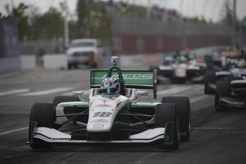 Al momento, Kaiser suma tres triunfos y ocho podiums (FOTO: Shawn Gritzmacher/IMS Photo/Road to Indy)