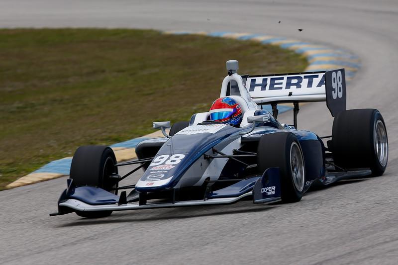 Colton Herta regresa con Andretti-Steinbrenner Racing, con el objetivo de luchar por el título (FOTO: Joe Skibinski/IMS, LLC Photography)