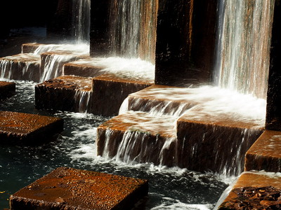 Waterfalls at the Canal