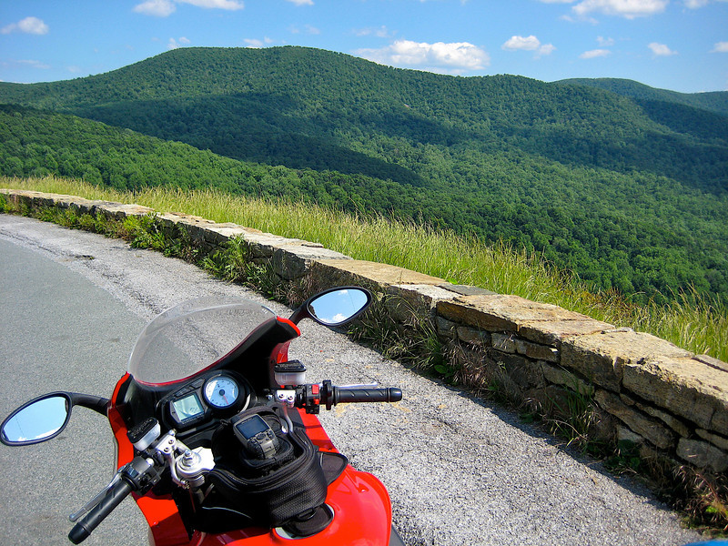 Shenandoah National Park Motorcycle