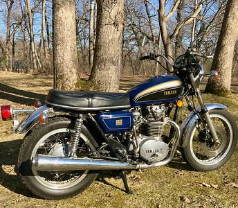 1977 XS650... full restoration