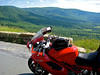 I love this shot. I'm a life long motorcycle rider. This is along the Blue Ridge Va.
