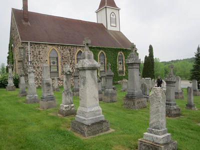 A real interesting Stone Church and graveyard we found near the Kettle Moraine State Forest.
