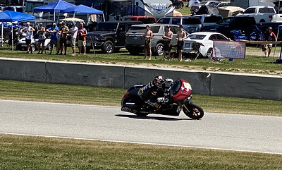 Baggers ….going at it …. Road America.