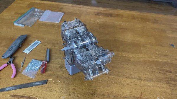 Designed in the early 1950s the Carrera race motor.