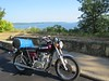 Along the Mississippi River on my ride down to Westby Wisconsin for the 27th annual Wildcat Mountain Rally.
