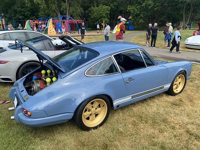 An early 911 Porsche
