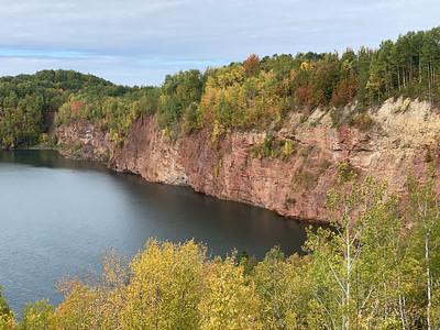 Abandon Iron mine, northern Minnesota