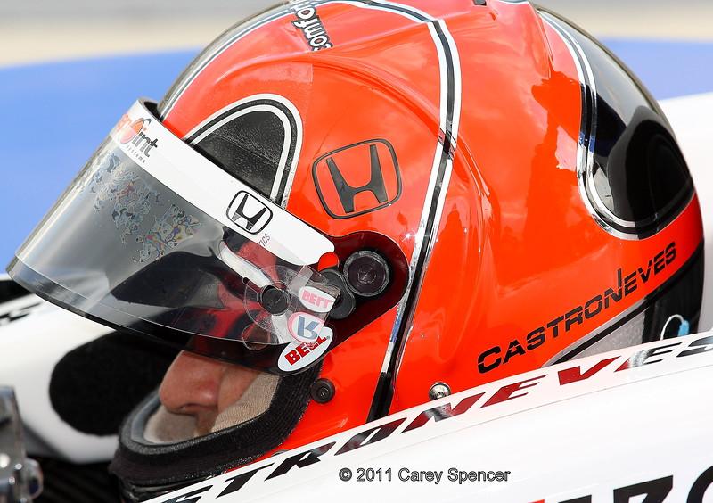 Helio Castroneves practice Barber Motorsports