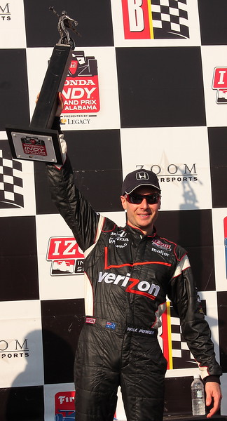 Will Power Raises Champions Trophy at Barber