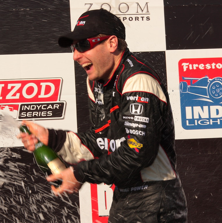 Champagne Uncorked at Barber after WIll Power Victory