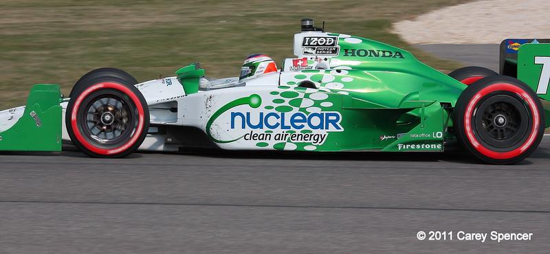 No. 78 Simona de Silvestro HVM IndyCar Barber