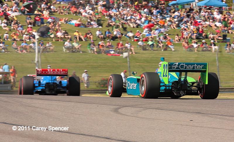 IndyCar Racing Barber Motorsports Park Alabama