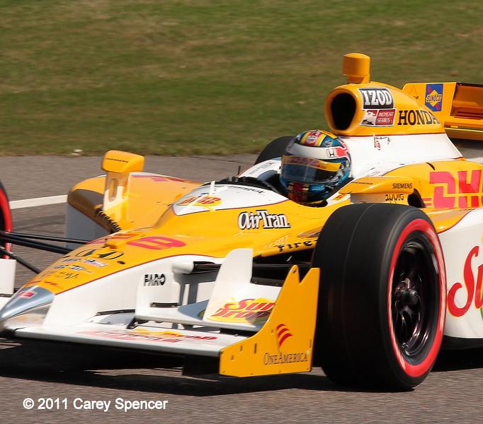 No. 28 Ryan Hunter-Reay Andretti Motorsport IndyCar Barber