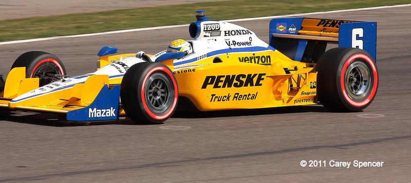 No. 6 Ryan Briscoe Team Penske Car Barber