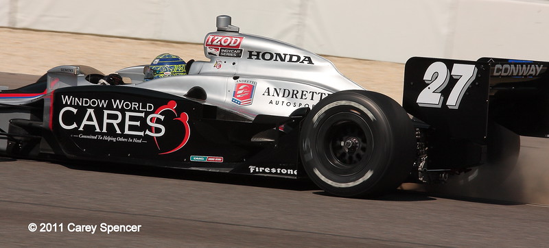 No. 27 Mike Conway Andretti Motorsport IndyCar Barber
