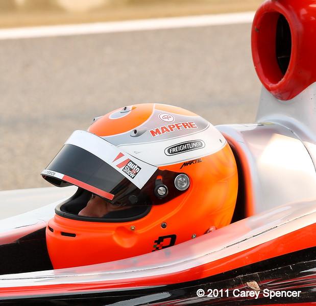 Juan Pablo Garcia Freightliner Team Jensen Firestone Indy Lights Barber Motorsports Park