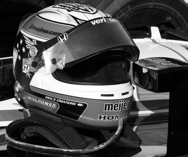 Will Power Helmet Victory Lane Barber