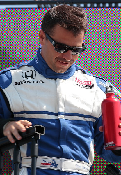 Newman Haas Racing Oriol Servia finished 5th at Barber