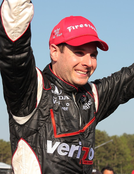 Will Power Celebrates Victory at Barber