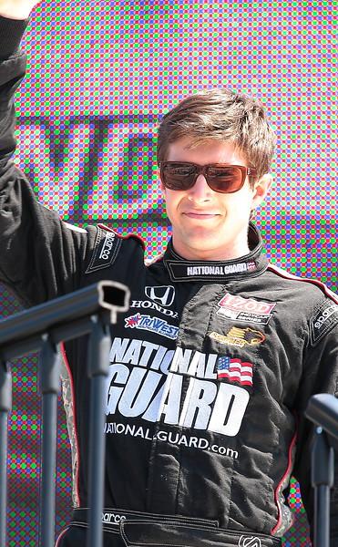 Panther Racing JR Hildebrand finished 13th at Barber