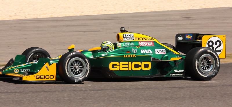 No. 82 Tony Kanaan KV Racing Lotus IndyCar