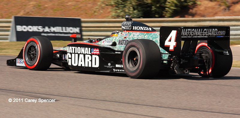 No. 4 JR Hildebrand IndyCar Barber