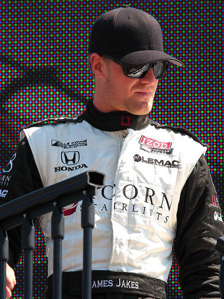 Dale Coyne Racing James Jakes Finished 25th at Barber due to Mechanical