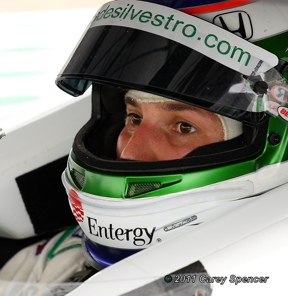 HVM Racing Simona de Silvestro Up Close in the Pits at Barber Motorsports Park