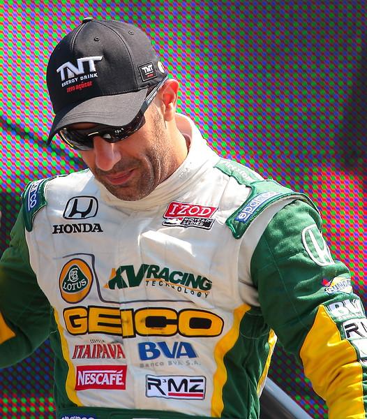 KV Racing Technology Lotus Tony Kanaan Finished 6th at Barber