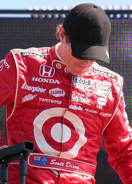 Target Chip Ganassi Racing Scott Dixon finished 2nd at Barber