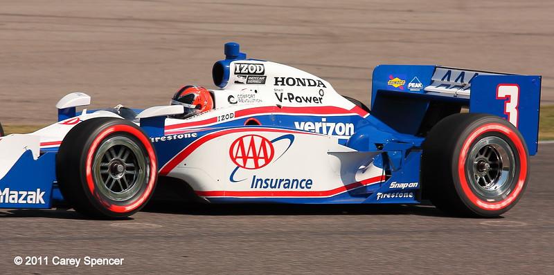 Helio Castroneves Team Penske No. 3 at Barber