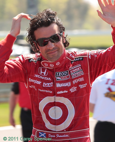 Best Hair for the Weekend at Barber Dario Franchitti