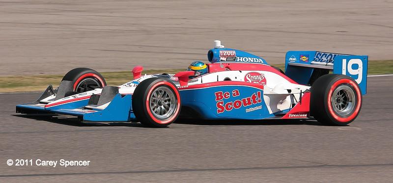 No. 19 Sebastien Bourdais Dale Coyne Racing IndyCar Barber