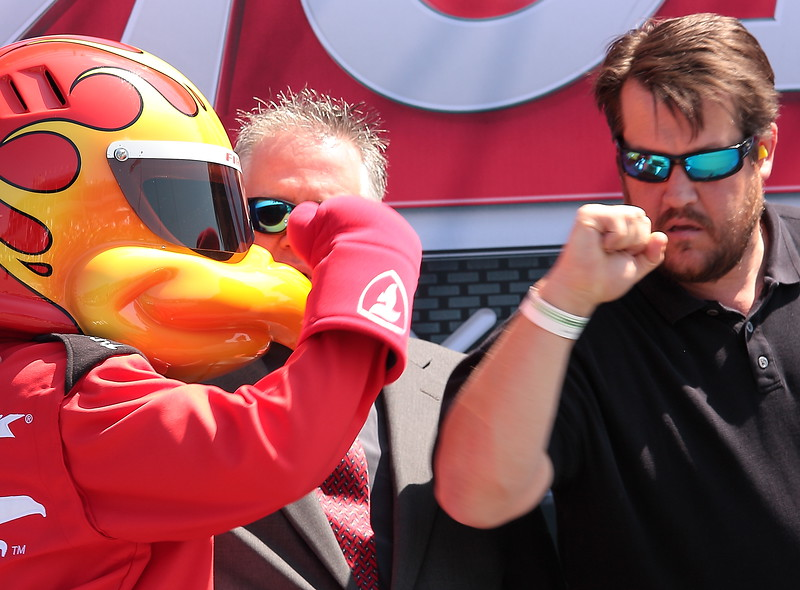 Rick and Bubba getting fired up with Firehawk before the Honda Indy Grand Prix of Alabama