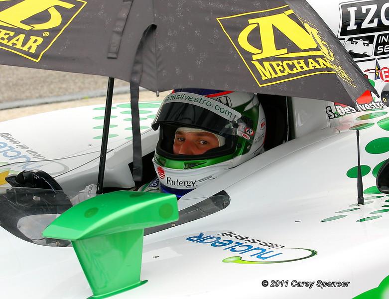 Simona de Silvestro Rain Delay Practice Friday at Barber Motorsports Park Alabama