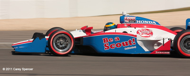 Sebastein Bourdais Dale Coyne Racing No. 19 Be a Scout IndyCar