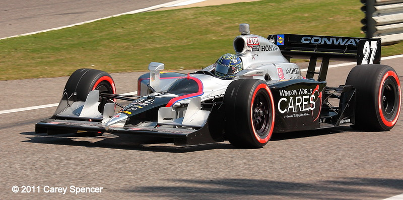 Mike Conway No. 27 IndyCar Barber