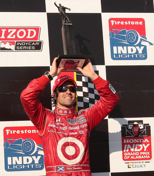 Dario Franchitti 3rd Place Trophy Barber