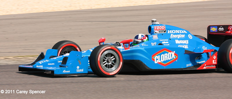 Dario Franchitti No. 10 Clorox Chip Ganassi IndyCar Barber