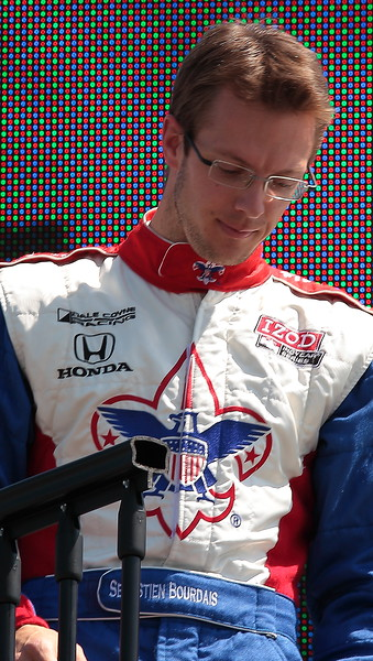 Dale Coyne Racing Sebastien Bourdais finished 11th at Barber