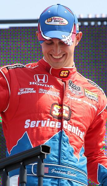 Service Central Chip Ganassi Racing Graham Rahal finished 18th at Barber