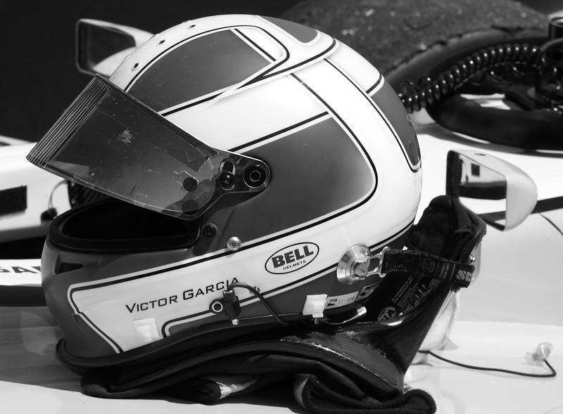 Victor Garcia Helmet Victory Lane Barber