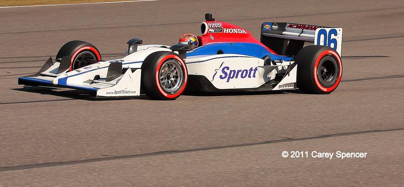 No. 6 Newman Haas IndyCar Barber