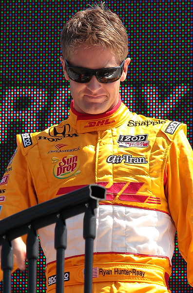 Andretti Motorsport Ryan Hunter-Reay finished 14th at Barber
