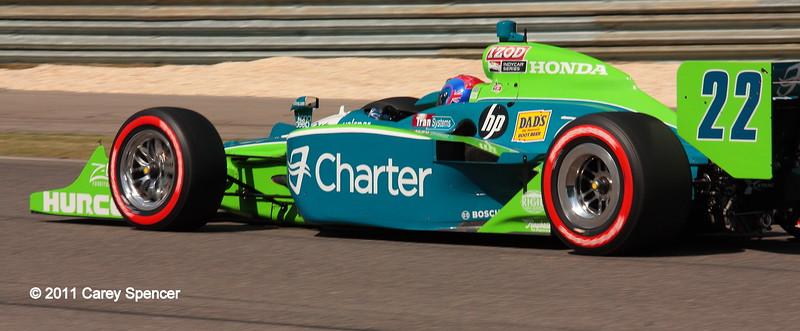 No. 22 Justin Wilson Charter IndyCar Barber