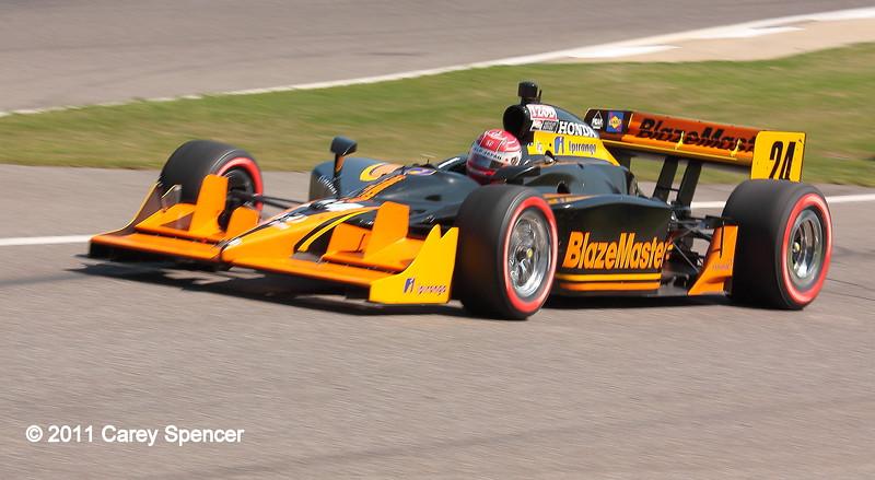 No. 24 Simon Pagenaud Dreyer and Reinbold Racing IndyCar Barber