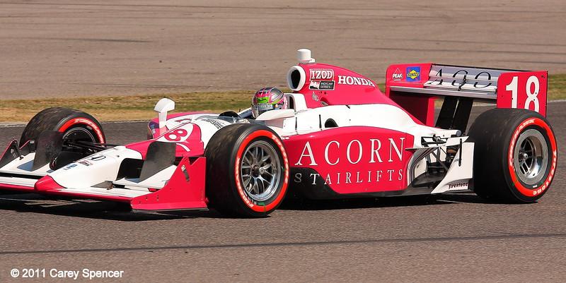 James Jakes No. 18 Dale Coyne Racing IndyCar