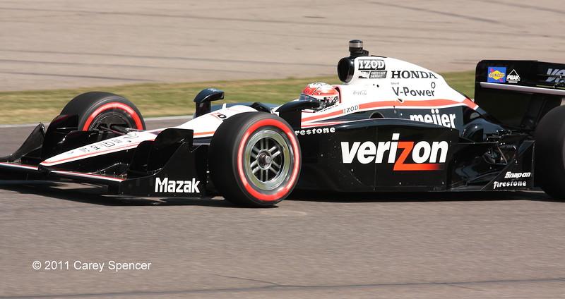 Will Power Team Penske No. 12 Barber Motorsports Park
