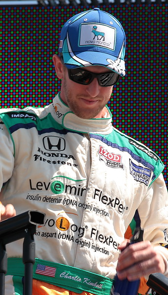 Novo Nordisk Chip Ganassi Racing Charlie Kimball finished 10th at Barber